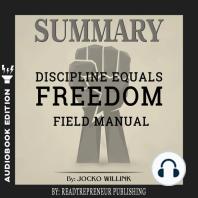 Summary of Discipline Equals Freedom