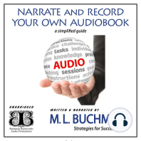 Narrate and Record Your Own Audiobook