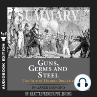 Summary of Guns, Germs, and Steel