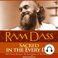 Sacred In The Every Day Life