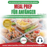 Meal Prep Für Anfänger