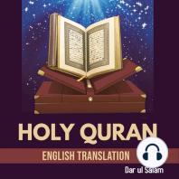 Holy Quran: English Translation