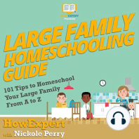 Large Family Homeschooling Guide