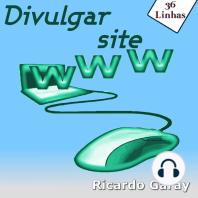 Divulgar site