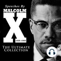 Speeches by Malcolm X, 1925-1965