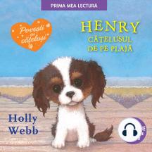 Henry, cățelușul de pe plajă
