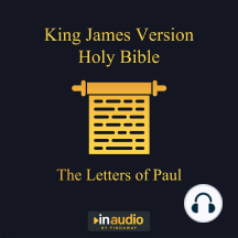 King James Version Holy Bible - The Letters of Paul
