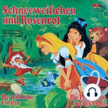 Märchenhörspiele nach Andersen und den Brüdern Grimm, Schneeweißchen und Rosenrot, Das häßliche Entlein, Die Prinzessin auf der Erbse