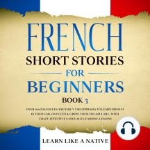 French Short Stories for Beginners Book 3: Over 100 Dialogues and Daily Used Phrases to Learn French in Your Car. Have Fun & Grow Your Vocabulary, with Crazy Effective Language Learning Lessons