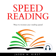SPEED READING: Ways to increase your reading spead