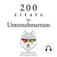 200 Zitate für Unternehmertum