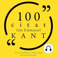 100 citat från Immanuel Kant