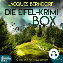 Die Eifel-Krimi-Box (6 Eifel-Krimis von Jacques Berndorf)
