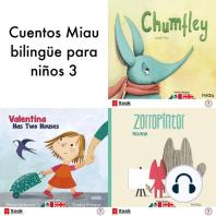 Cuentos Miau bilingüe para niños 3