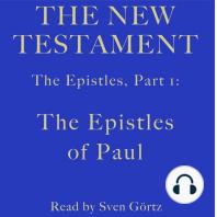 Epistles, Part 1, The