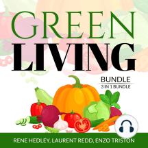 Green Living Bundle: 3 in 1 Bundle, Creative Recycling Side, Go Zero Waste, and Living With a Green Heart
