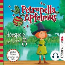 Petronella Apfelmus, Teil 8: Das Stinkeparfüm, Der Zaubersauberbesen, Der verlorene Ring, Die Doppelgängerin