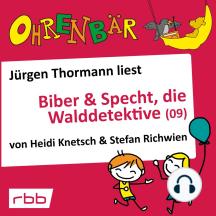 Ohrenbär - eine OHRENBÄR Geschichte, 6, Folge 63: Ohrenbär: Biber & Specht, die Walddetektive, Teil 9 (Hörbuch mit Musik)