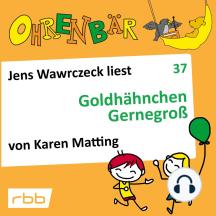 Ohrenbär - eine OHRENBÄR Geschichte, 4, Folge 37: Goldhähnchen Gernegroß (Hörbuch mit Musik)