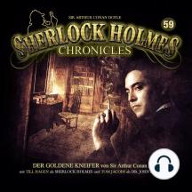 Sherlock Holmes Chronicles, Folge 59: Der goldene Kneifer