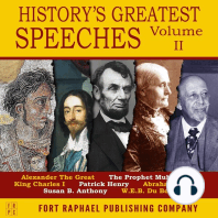 History's Greatest Speeches - Vol. II
