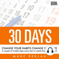 30 Days - Change your habits, Change your life