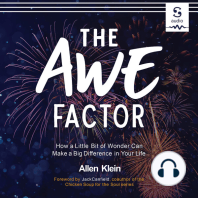 The Awe Factor: How a Little Bit of Wonder Can Make a Big Difference in Your Life