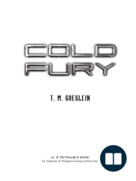 Cold Fury by T.M. Goeglein excerpt