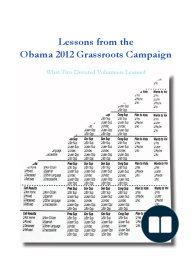 Lessons from the Obama 2012 Grassroots Campaign