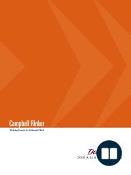 DonorPulse Report- 2008 Arts & Culture Edition