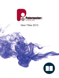 Paternoster 2013 Catalogue