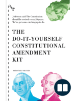 The Do-It-Yourself Constitutional Amendment Kit