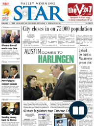 The Valley Morning Star 01-23-2009