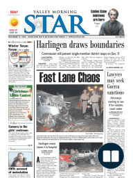 The Valley Morning Star 12-12-2008