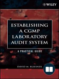 Establishing A CGMP Laboratory Audit System