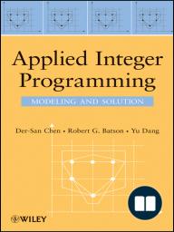 Applied Integer Programming