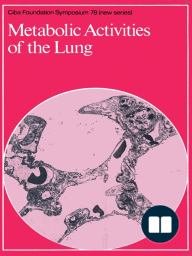 Metabolic Activities of the Lung