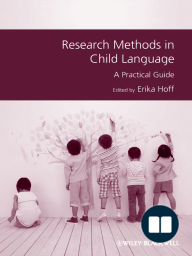 Research Methods in Child Language