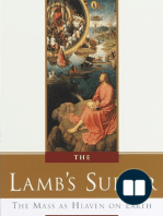 The Lamb's Supper by Scott Hahn (Foreword, Ch. 1)