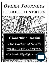 Rossini's The Barber of Seville (Il Barbiere di Siviglia)