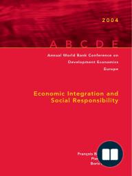Annual World Bank Conference on Development Economics 2004, Europe