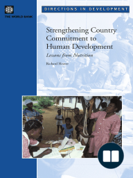 Strengthening Country Commitment to Human Development
