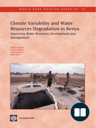 Climate Variability and Water Resources Degradation in Kenya