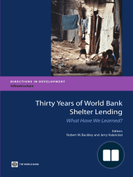 Thirty Years of World Bank Shelter Lending