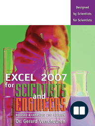 Excel 2007 for Scientists and Engineers
