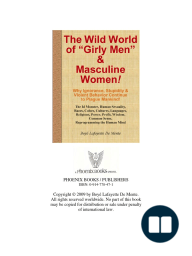 THE WILD WORLD OF GIRLY MEN & MASCULINE WOMEN!