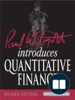 Paul Wilmott Introduces Quantitative Finance