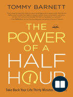 30 Minutes to Building a Healthy Family (The Power of a Half Hour by Tommy Barnett Excerpt)