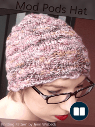 Mod Pods Hat Knitting Pattern