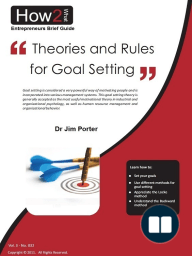 Theories and Rules for Goal Setting